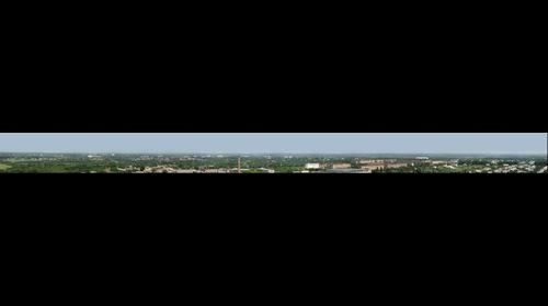 Panorama from a radio engineering tower...