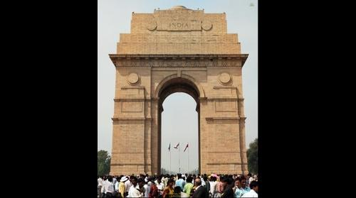The India Gate, New Delhi 2007