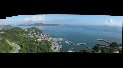 Ijika fishing port in Japan(三重県鳥羽・石鏡漁港)