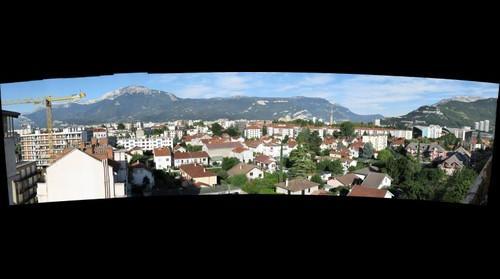 Grenoble Center Ghost Town
