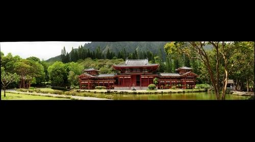 Byodo-In Temple Kahaluu Oahu Hawaii