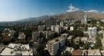 Overview over north Tehran, Iran