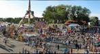 The Midway at the Minnesota State Fair Grounds. 
