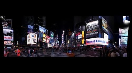 The View from the Middle of Times Square