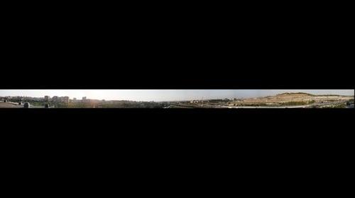 Madrid Vista 160 desde Parque lineal del Manzanares
