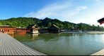 The famous Itsukushima Shrine