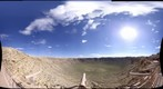 Meteor Crater platform view, August 26, 2010
