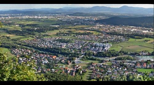 Ljubljana from West
