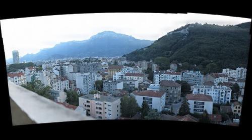 Grenoble vue de l'Hermitage