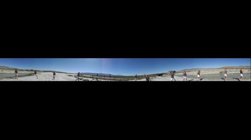 Utah Salt Flats Panorama