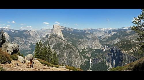 Yosemite seen from Washburn Point