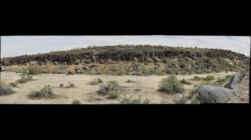 Mojave lava flow 1