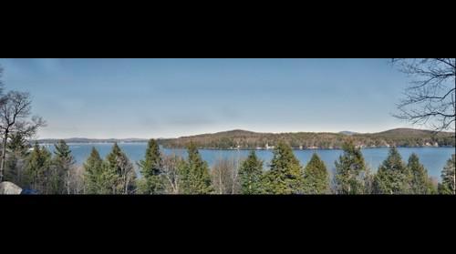Lake Winnipesaukee, Alton Bay, NH taken from RT 11