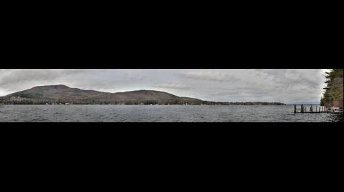 Lake Winnipesaukee, Alton Bay, NH view opposite of RT 11