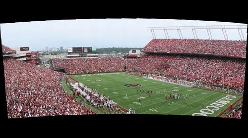 South Carolina vs. Georgia, South Endzone, Image 1