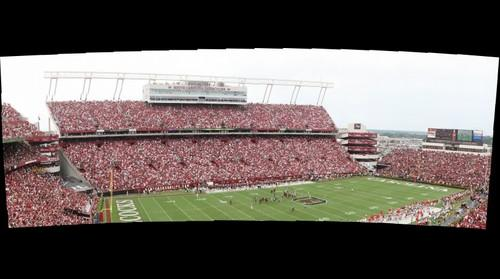 South Carolina vs. Georgia, South Endzone, Image 2