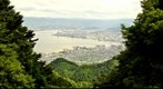 View down to Otsu near Kyoto