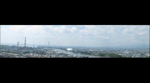 三重県四日市コンビナート・Yokkaichi industrial complex