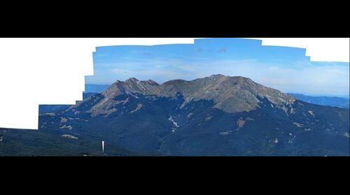 Dalla cima del Cavalbianco
