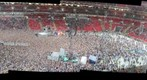 Handheld shot at Muse concert 11th Sept 10