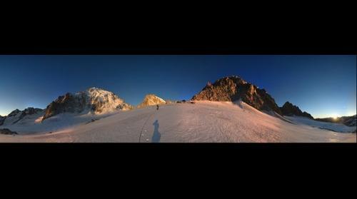 Glacier de Saleina