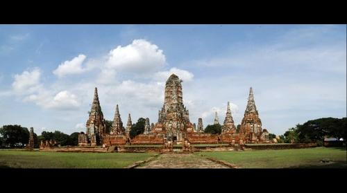 Wat Chaiwatthanaram, Ayutthaya Thailand
