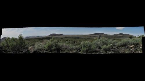 Mojave volcanoes