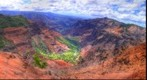 WAIMEA CANYON FROM PUU HINAHINA LOOKOUT, KAUAI, HAWAII