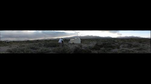 Filming the Pierre Auger Observatory