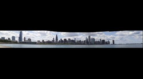 Chicago Lake Front - Photoshop