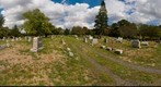 Readington Reformed Church, Readington, NJ, cemetary 360 degrees 1