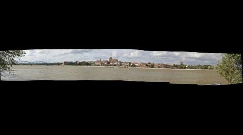 Panorama of old town in Torun // Panorama starego miasta w Toruniu