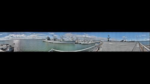 USS Hornet, aft flight deck