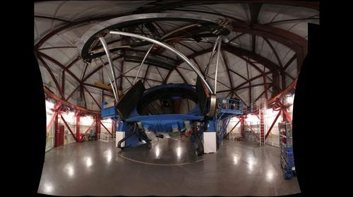 Inside the Magellan Telescope