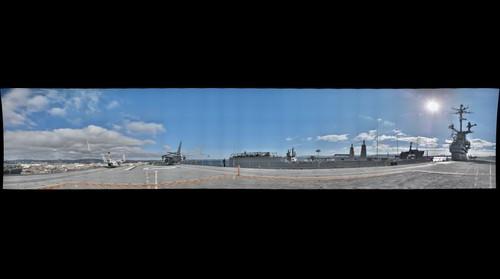 USS Hornet, forward