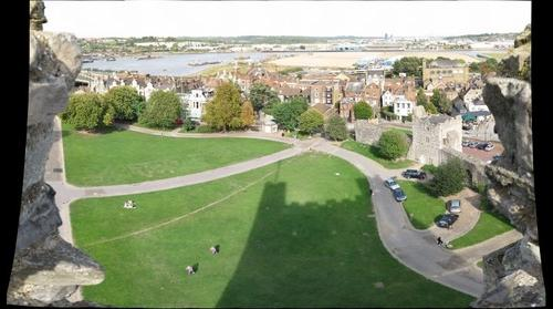 Rochester Castle Gardens