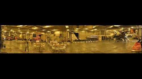 Hornet hangar deck 2