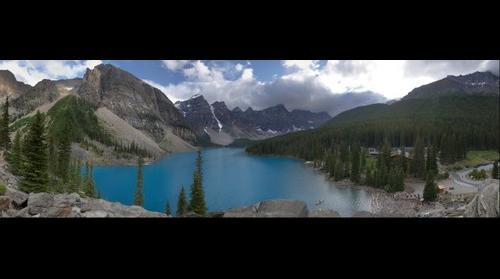 Lake Moraine - Alberta, Canada