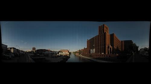 Tempelhofer Hafen / Ullsteinhaus
