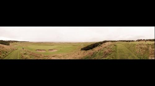 Royal Dornoch Golf Course (view from 5th Tee)