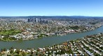 Brisbane City Panorama from Hawthorne