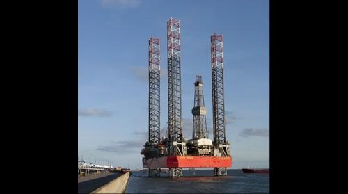 Drilling rig Energy Endeavour
