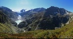 Trift Gletscher und Bruecke