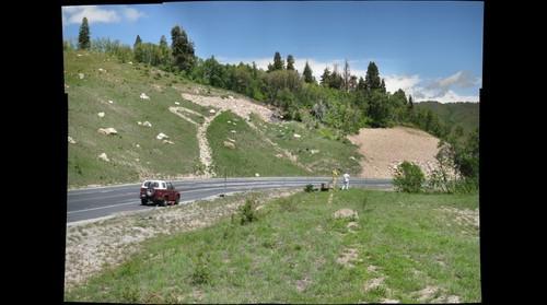 ZigZag Landslide, Utah