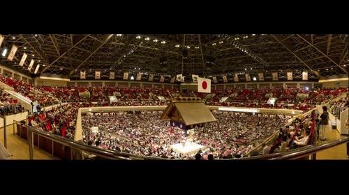 Sumo Ring - Tokyo, Japan - 9/26/2010