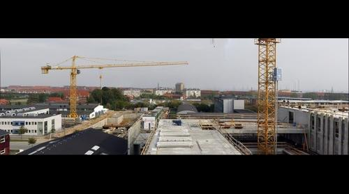 Construction work at IT-Byen Katrinebjerg