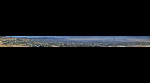 Salt Lake City Ensign Peak south