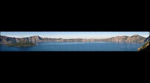 Crater Lake from Sinnott Overlook