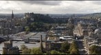 Edinburgh Scotland - view from Nelson Monument Calton Hill September 2010