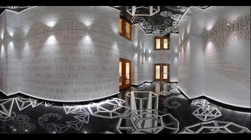 Leonardo Dialogo (nanotechnology art)